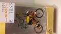 Wielrenner met gele trui Cycliste  Tour de France Figuur  1/43