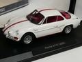 Alpine  A110 1600 s 1971 Wit met rode striping - White 1/18