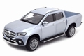 Mercedes Benz X Klasse 2018 Zilver - Silver Pick up 1/18