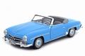 Mercedes Benz 190 SL 1957 Blauw - Blue Cabriolet + softtop 1/18