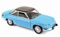 Panhard 24 CT 1964  Blauw  / Zwart 1/18
