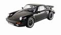 Porsche 911 Turbo 3,3 L 1986 Zwart 1/18