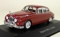 Jaguar MK II 1960 Bordeaux rood  1/43
