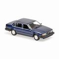 Volvo 740 1986 Donker Blauw metallic dark blue 1/43