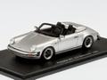 Porsche 911 3,2 Speedster 1989 Zilver 1/43