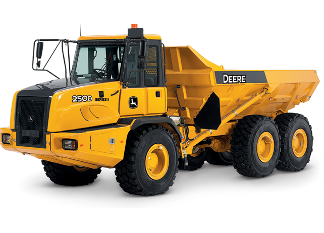 John deere 400D articulated dump truck 1/50