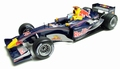 Red Bull Racing showcar 2005 D,Coulthard F1 Formule 1 1/18