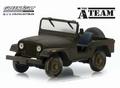 Jeep CJ5 The A-Team 1983-87 tv series Green 1/43