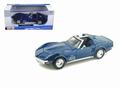 Chevrolet Corvette C3 1970 Blauw  1/24