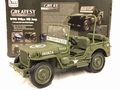 Jeep Willy's Army green 1941  Military Police 1/18
