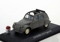 Citroen 2 CV Type AZ  Grijs  Grey 1/43
