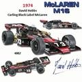 Mc Laren M16 D,Mobbs Indianapolis 500 1974 F1 Formule 1 1/18