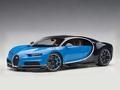 Bugatti Chiron 2017 French racing blue/ atlantic blue 1/18