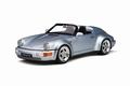 Porsche 911  Speedster964 Turbo look silver/ zilver 1/18