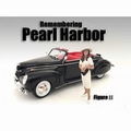 Figuur remembering Pearl Harbor II Vrouw met hoed 1/24