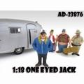 One Eyed Jack Trailerpark Figuur 1/18