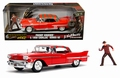 Cadillac 1958 series 62 Rood -Red + figuur
