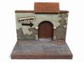 Diorama To Bastogne Resin backdrop 1/18