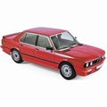 BMW M535i (E12) 1986 Rood - Red 1/18