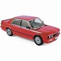 BMW M535i (E12) 1986 Rood - Red 1/18