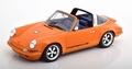 Singer Porsche 911 Targa 2015 Oranje - Orange 1/18