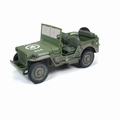 Jeep Willy's MB Groen Army dirty 1/18