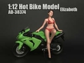 Elizabeth hot bike model 1/12