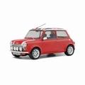 Mini Cooper 1,3 i sport pack Rood met vlag Redd 1997 1/18
