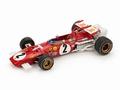Ferrari 312 B GP Italia 1970 J,Ickx #2 testcar Formule 1 F1 1/43