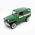Jeep Willys station wagon 1955 Groen  Green 1/18