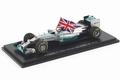 Mercedes AMG Petronas F1 L,Hamilton Formule 1 2014 Abu Dhabi 1/43