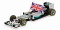 Mercedes AMG petronas F1 2014 L,Hamilton Abu Dhabi Formule 1 1/43
