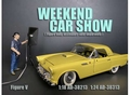 Weekend car show V enkel figuur zonder lamp 1/18