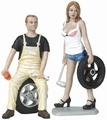 Tire brigade set Derek & Meg 1/18