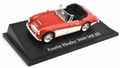 Austin Healey 3000 MKIII Rood/wit - Red/white 1/43