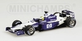 BMW Williams FW24  N,Rosberg Test F1 Barcelona Formule 1 1/43