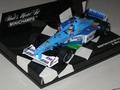 Benetton Playlife F1  B199 A,Wurz Formule 1 1999 1/43
