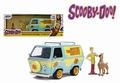 Scooby Doo Mystery machine + figure Shaggy & Scooby 1/24