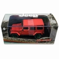 Jeep Wrangler 2017  unlimited Sahara Rood - Red 1/18