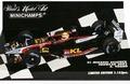Minardi Asiatech schowcar 2002 A,Yoong F1 Formule 1 1/43