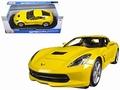 Chevrolet Corvette 2014 Stingray Geel - Yellow 1/18