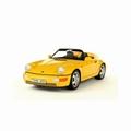 Porsche 911 Type 964 Speedster Geel - Yellow 1/18