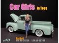 Car Girl Rachel Blond - Black  T shirt 1/18