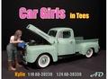 Car Girl Kylie Filling oil 1/18