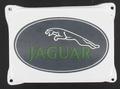 Jaguar emaille wit 14 x 10