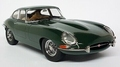Jaguar E Type Groen / green RHD interieur beige1961  1/18