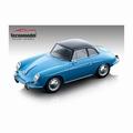 Porsche 356 Karmann Hard top 1961 blauw  - Blue 1/18