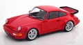 Porsche 911 (964) 3,6 Turbo Rood - Red 1990 1/18
