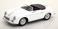 Porsche 356 speedster 1954 Wit - White 1/18