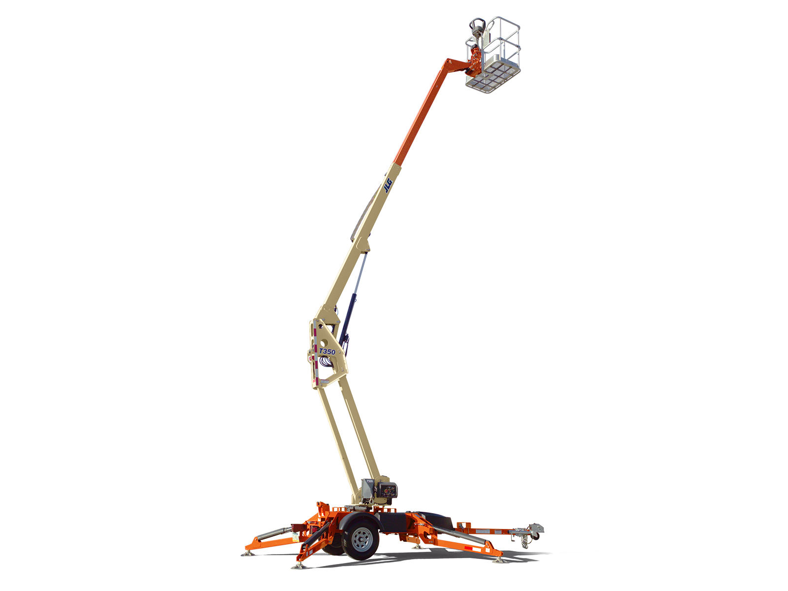 JLG trailer mounted boom lift t350 1/32